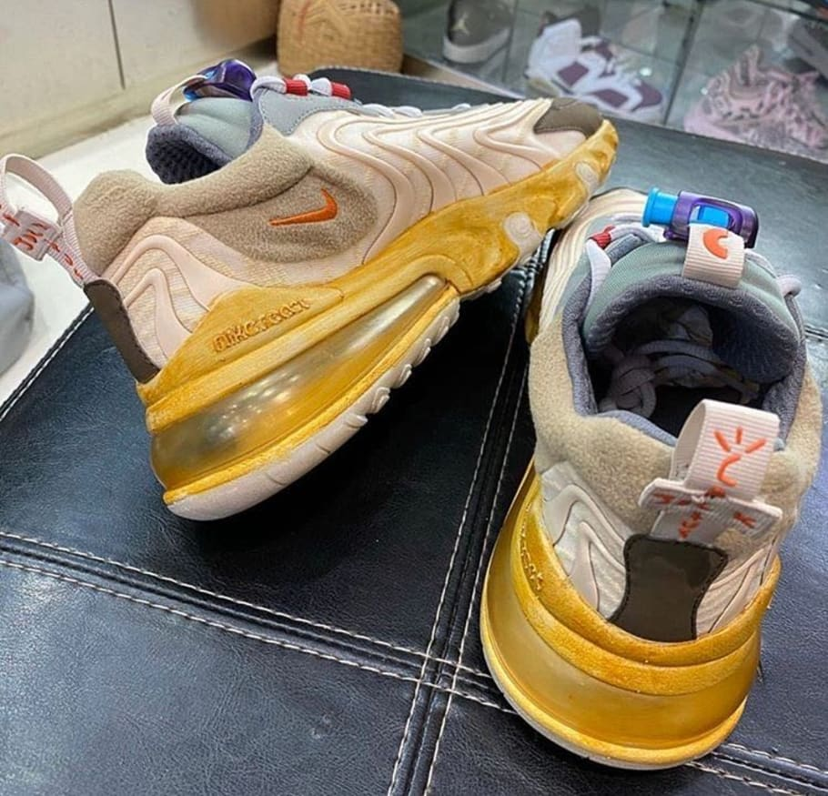 air max 270 react travis scott price
