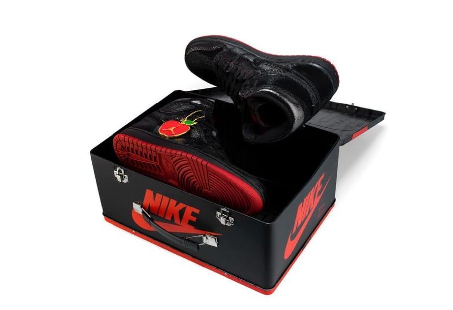 Air Jordan 1 High OG 'SP Gina' BlackBlack Varsity Red White