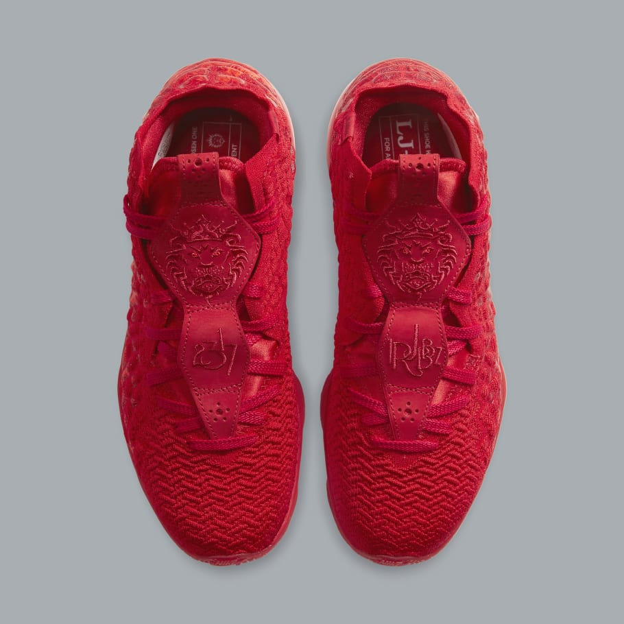 Nike LeBron 17 University Red BQ3177 600 |