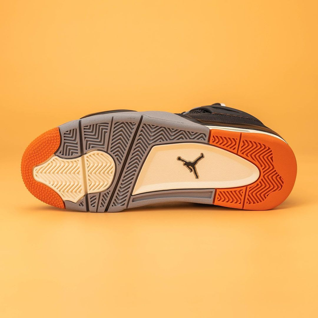 Air Jordan 4 IV Starfish Release Date CW7183-100 Sole