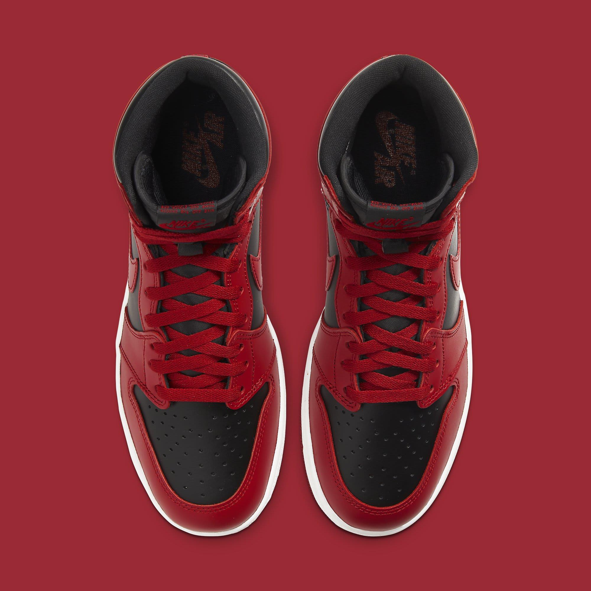 Air Jordan 1 High New Beginnings Varsity Red Release Date BQ4422-600 Top