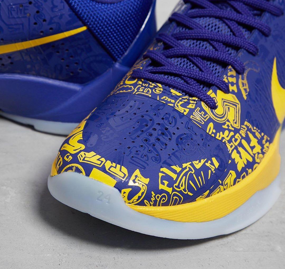 Nike Kobe 5 5 Rings Protro Release Date Toe