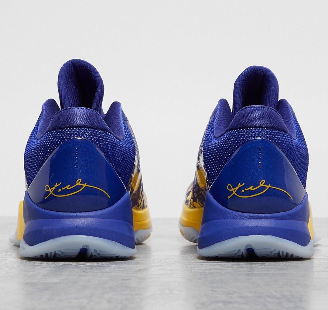 Nike Kobe 5 5 Rings Protro Release Date Heel