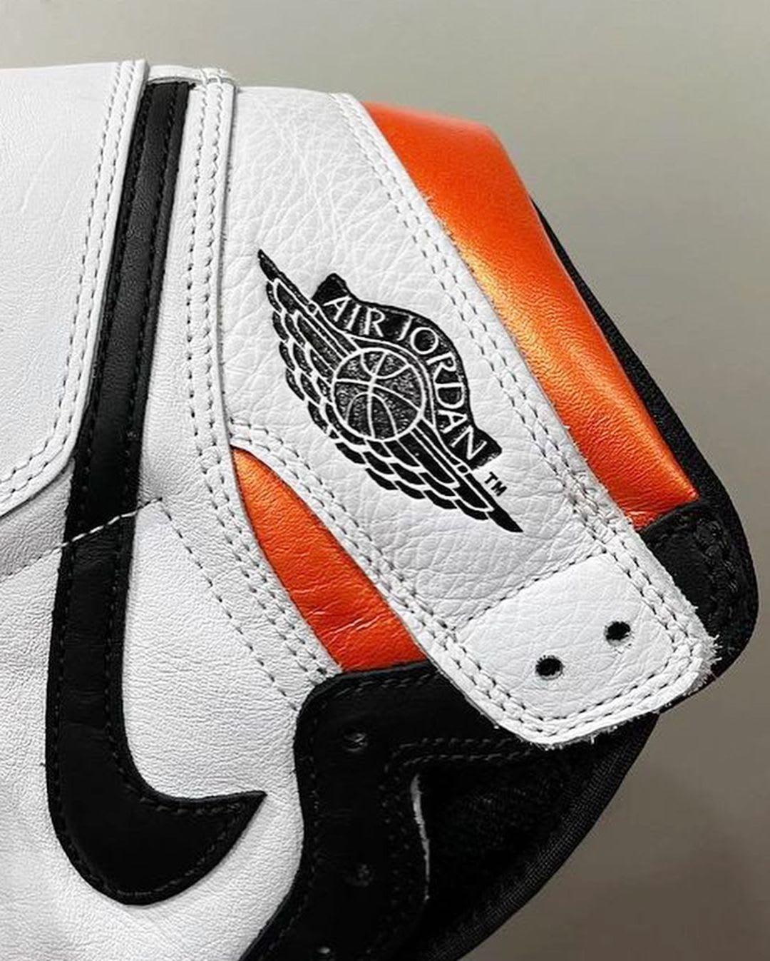Air Jordan 1 Retro High OG 'Electro Orange' 555088-180 Side