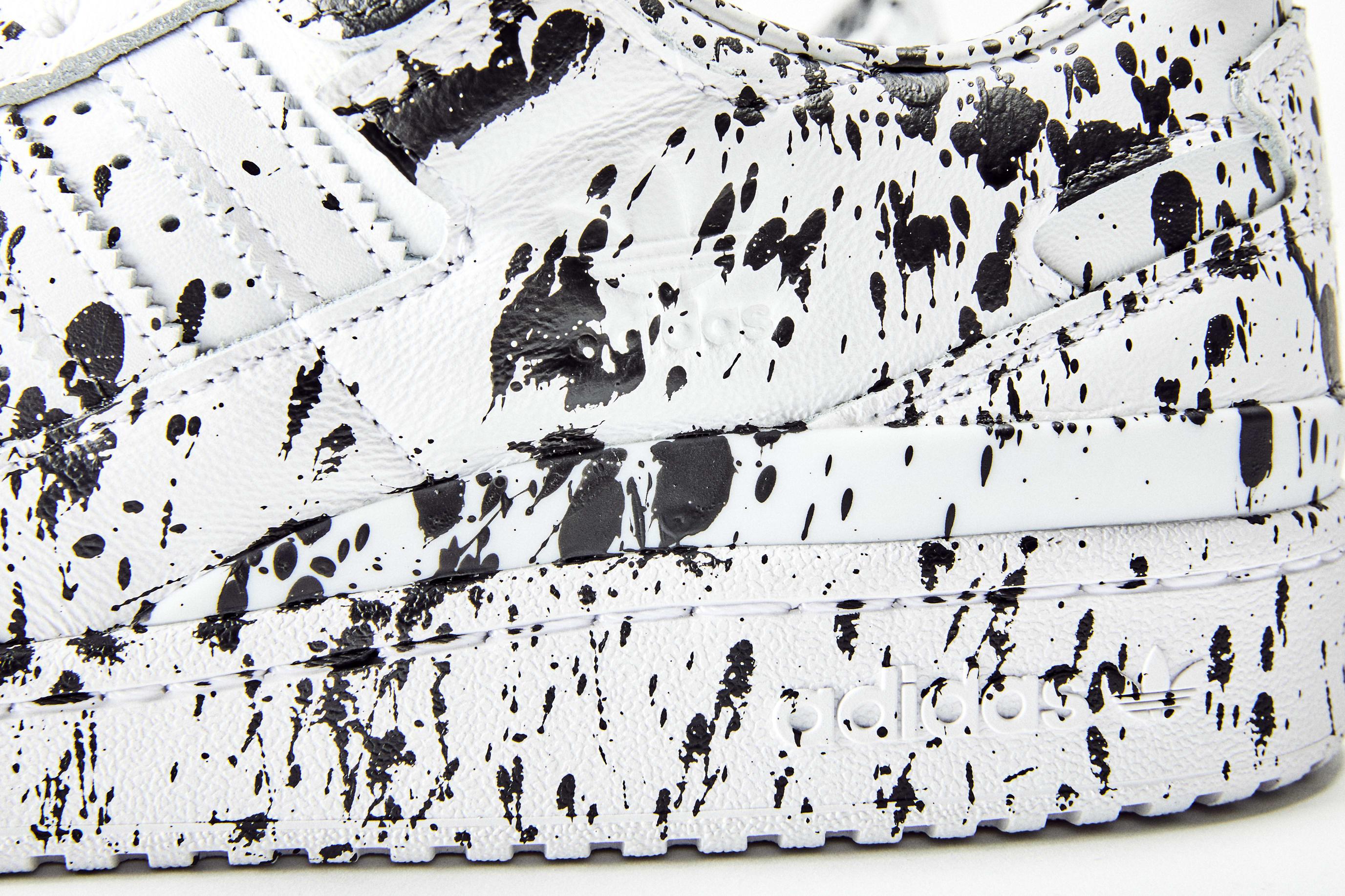 Lucien Smith Adidas Forum Low Custom Side