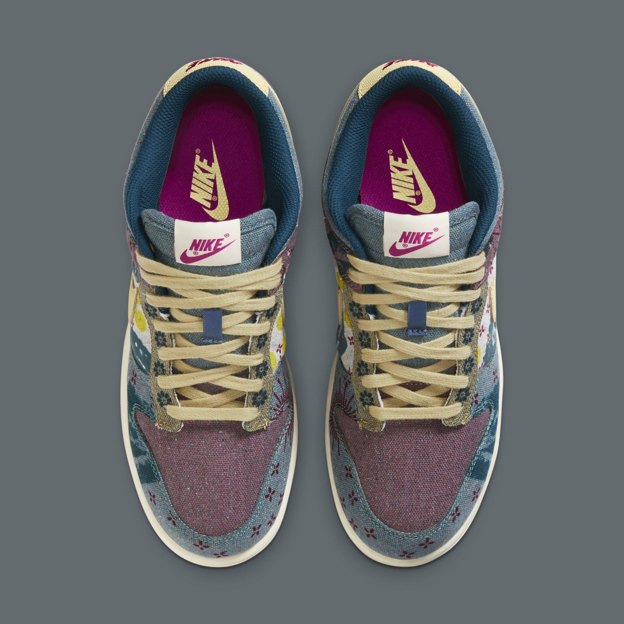 Nike Dunk Low SP 'Lemon Wash' CZ9747-900 Top