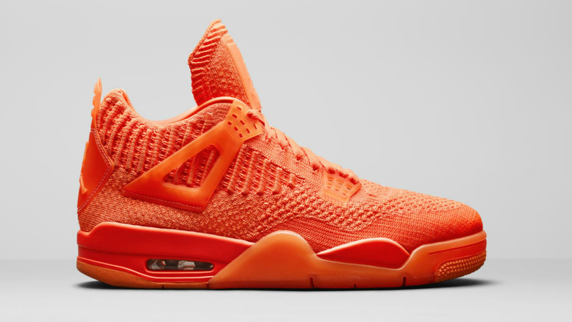 air jordan iv flyknit orange