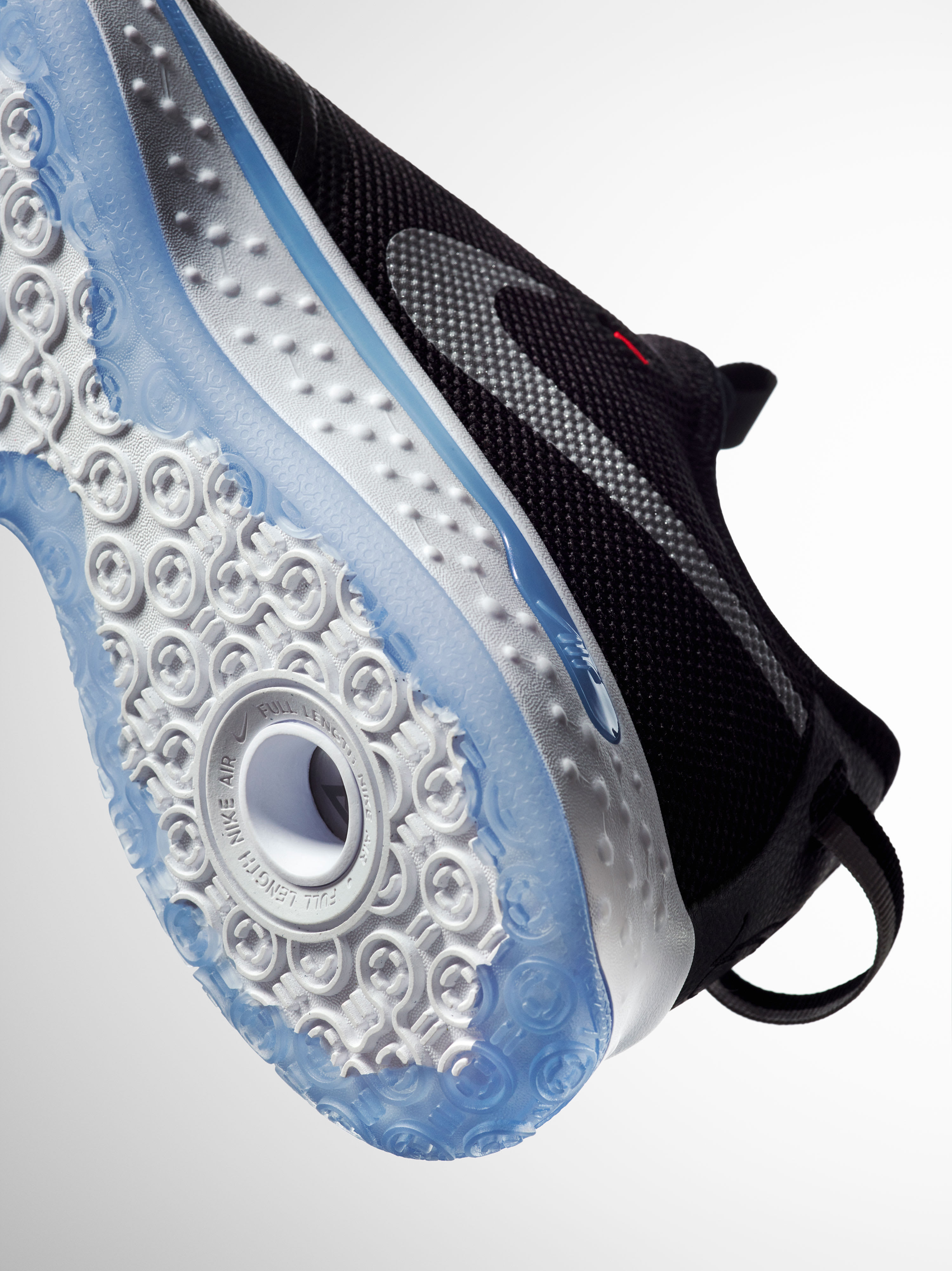 Nike PG 4 Black White Release Date CD5082-001 Sole