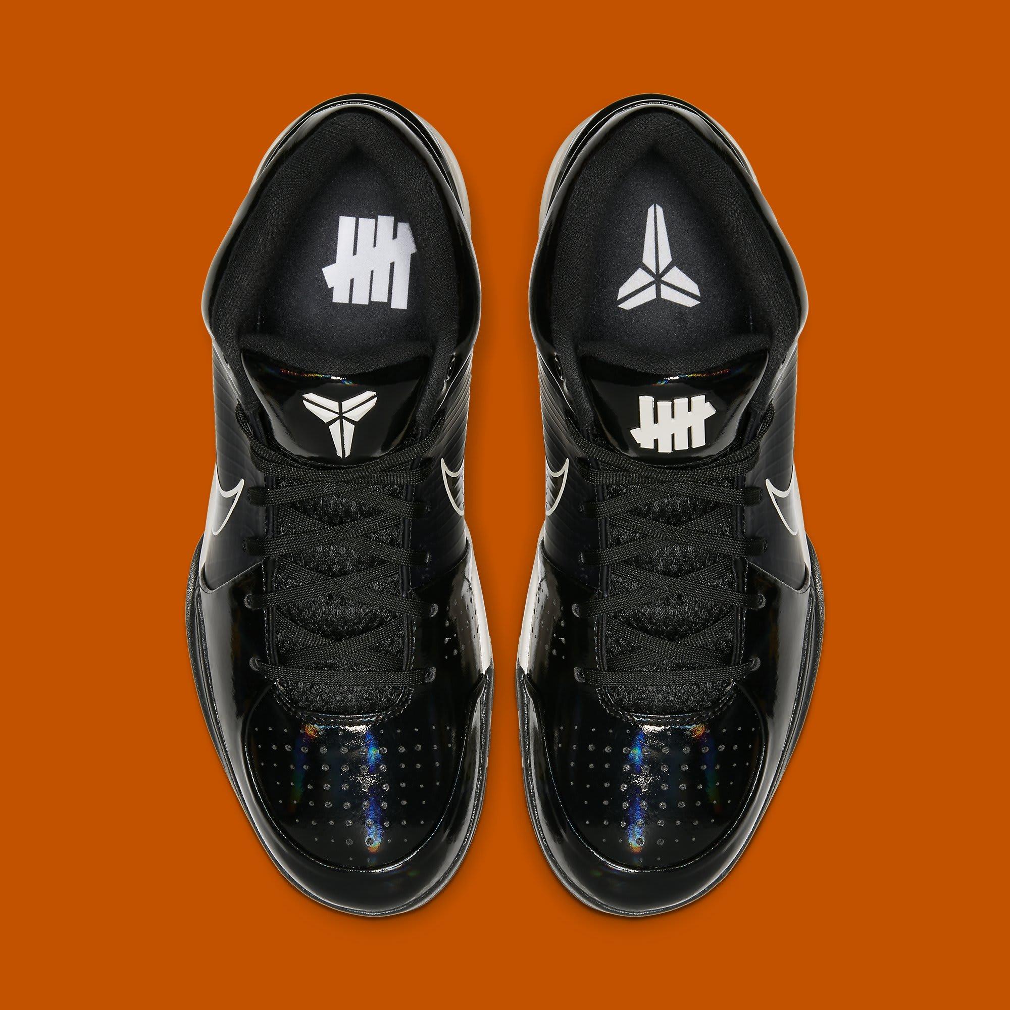 Undefeated x Nike Kobe 4 Protro 'Black Mamba' CQ3869-001 (Top)