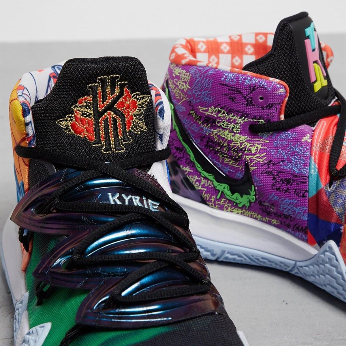 Nike Kyrie S2 Hybrid 'What The' Tongue