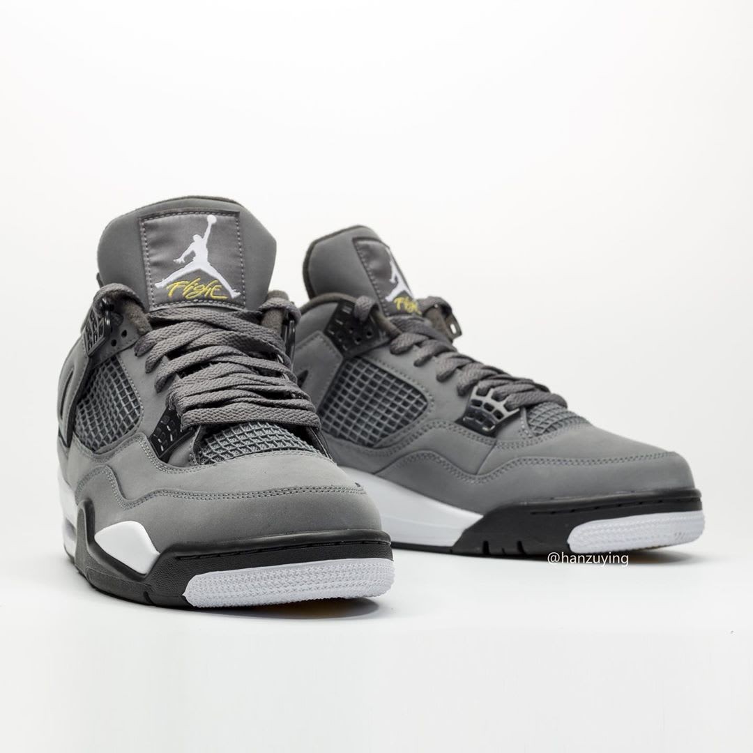 Air Jordan 4 IV Cool Grey 2019 Release Date 308497-007 Front