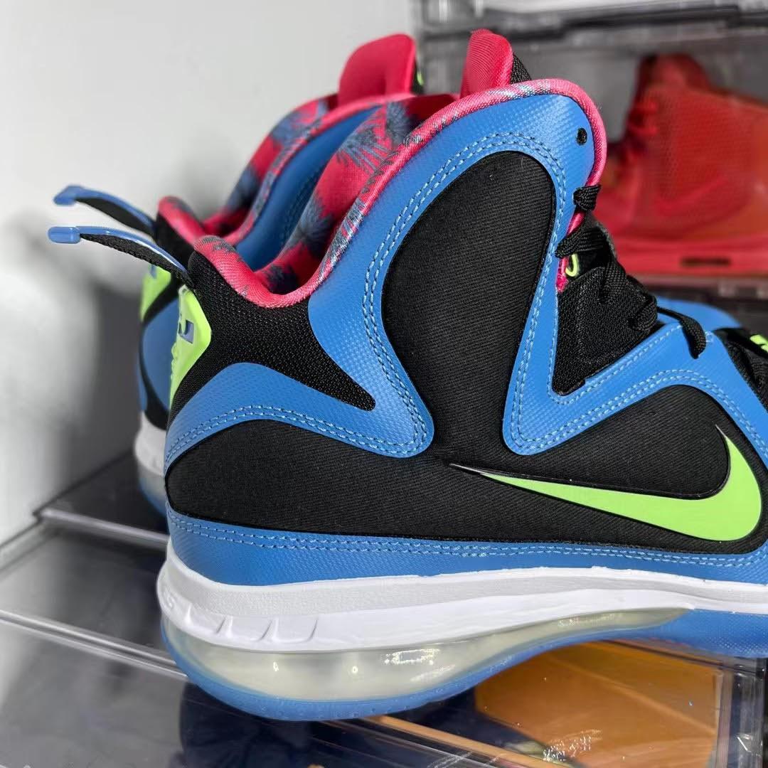 Nike LeBron 9 Retro 'South Coast' Heel