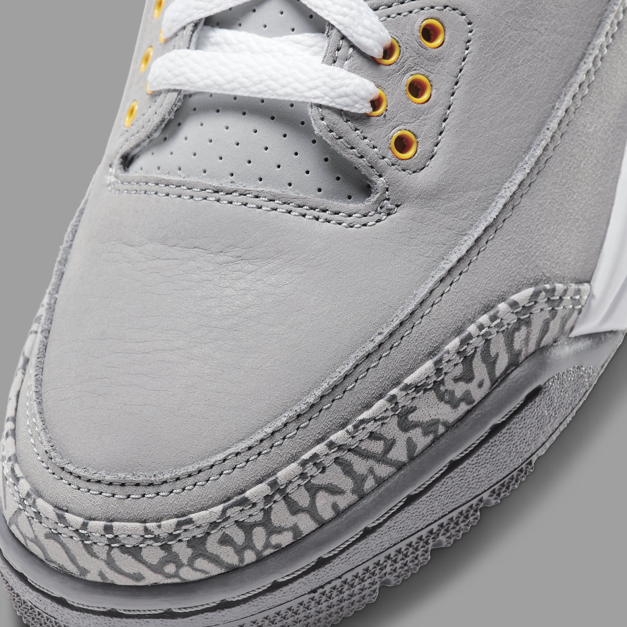 Air Jordan 3 Retro 'Cool Grey' 2021 CT8532-012 Toe