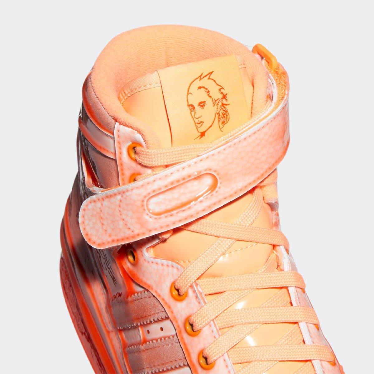 Jeremy Scott x Adidas Forum Hi Orange Tongue