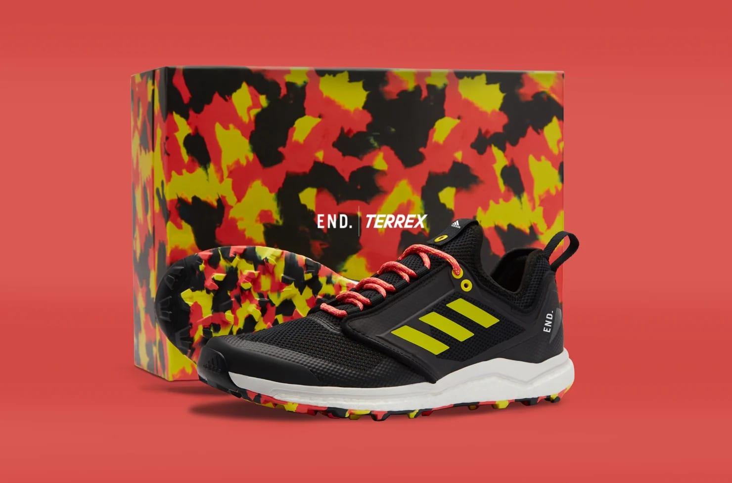 End. x Adidas Consortium Terrex Agravic XT 'Black/Red' F35785 1