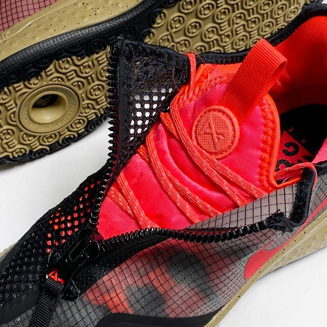 Nike PG 4 ACG PCG Release Date CZ2241-900 Tongue