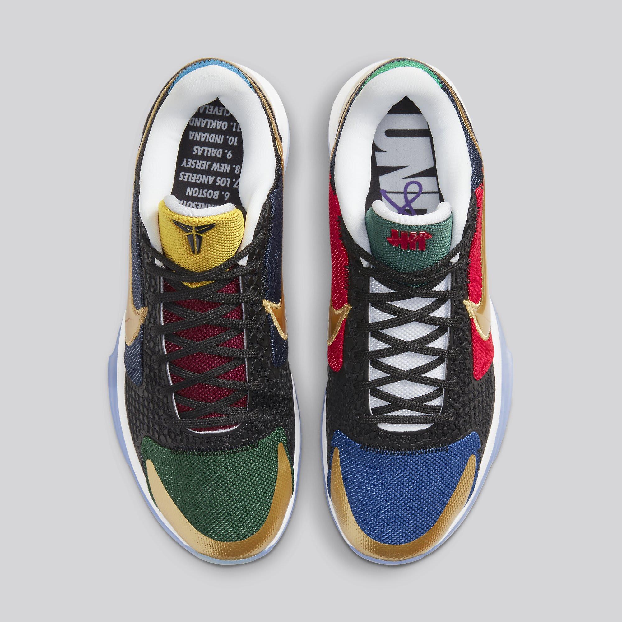 Undefeated x Nike Kobe 5 Protro 'Dirty Dozen' DB5551-900 Top