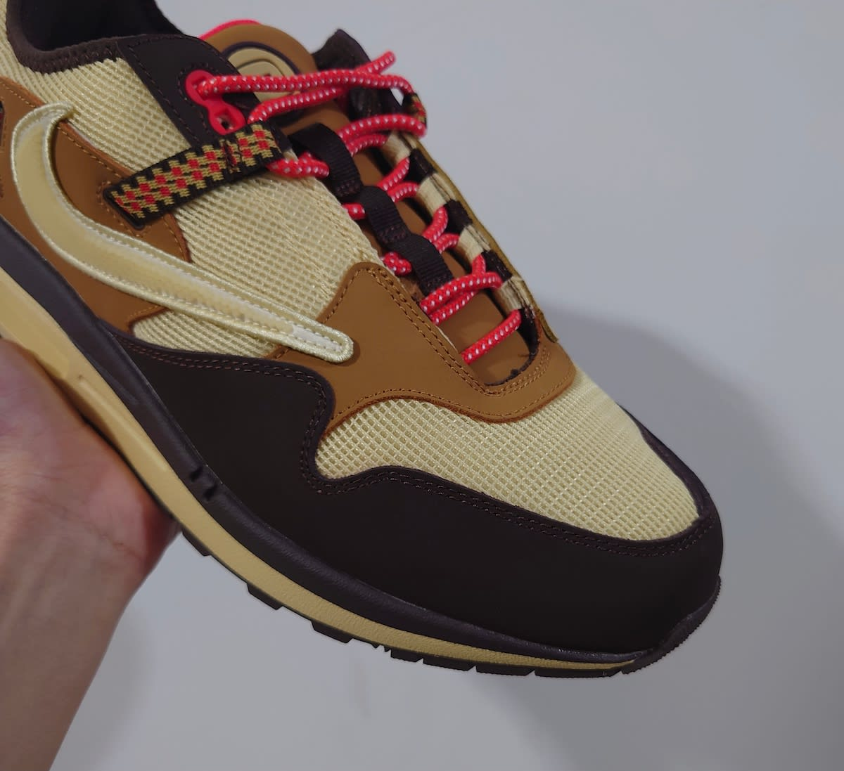 Travis Scott x Nike Air Max 1 Collab Toe