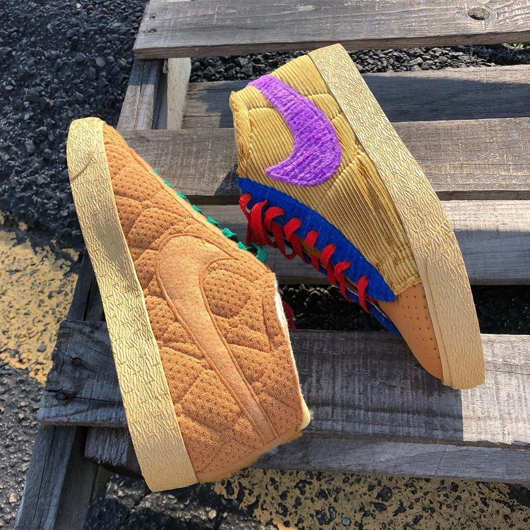 CPFM x Nike Blazer Mid By You 'Sponge' (Pair)