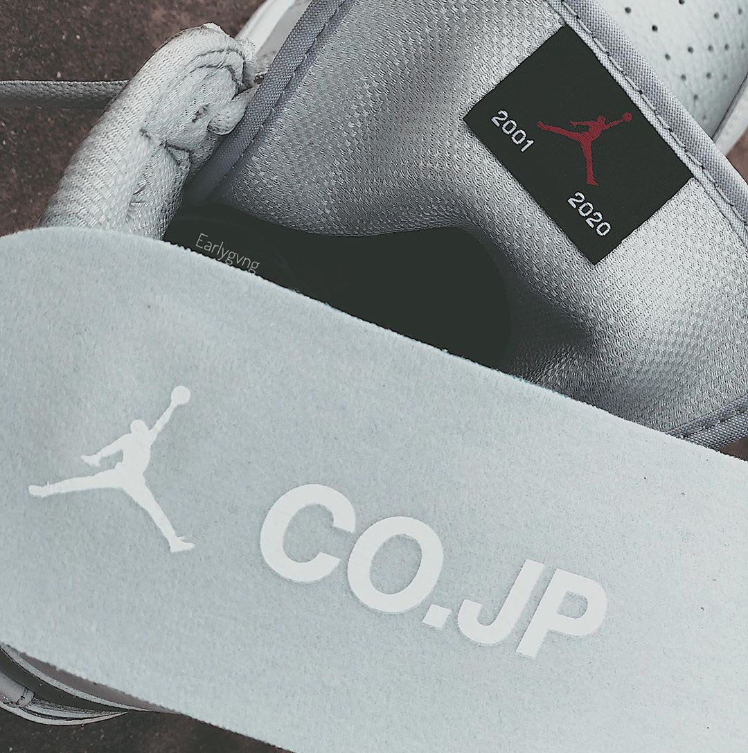 Air Jordan 1 Retro High OG 'Metallic Silver' 555088-029 Insole