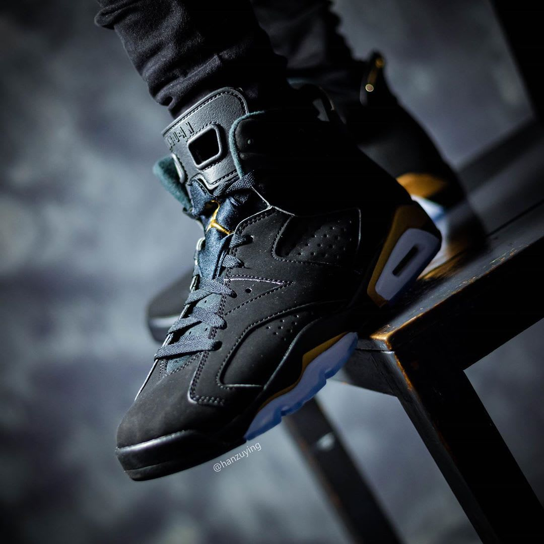 Air Jordan 6 DMP Release Date CT4594-007 On-Foot Left