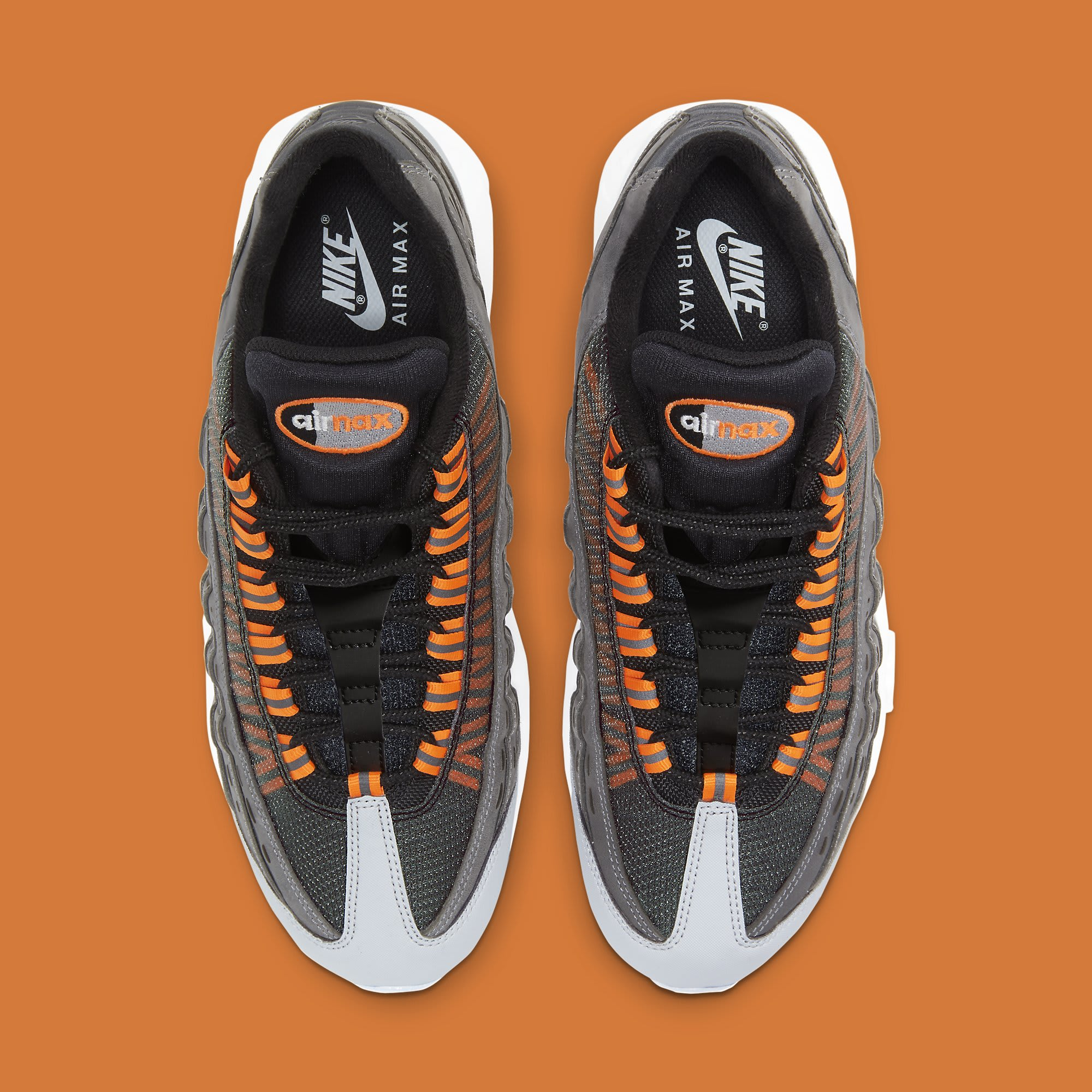 Kim Jones x Nike Air Max 95 Orange Release Date DD1871-001 Top
