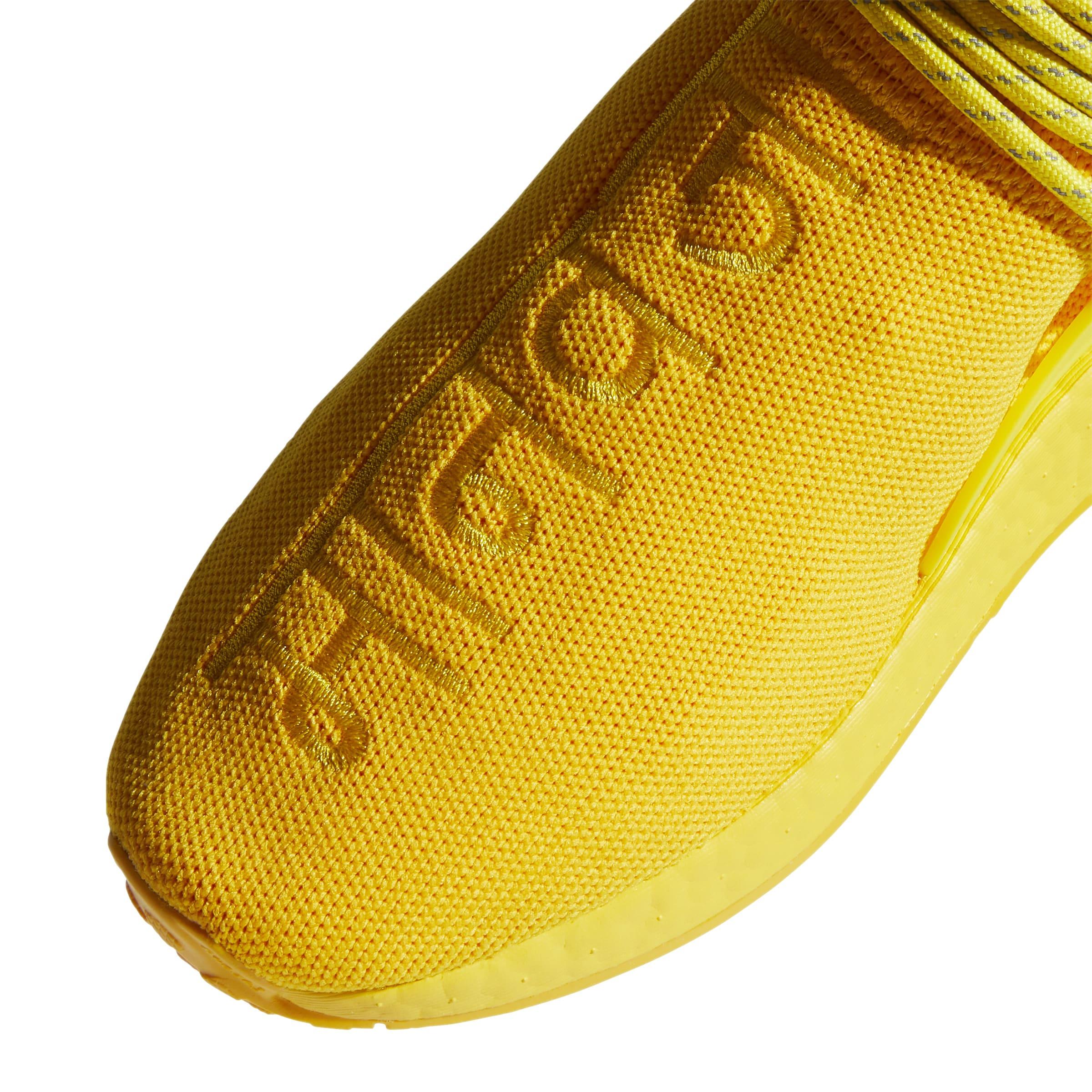 Pharrell x Adidas NMD Hu 'Yellow' GY0091 Top
