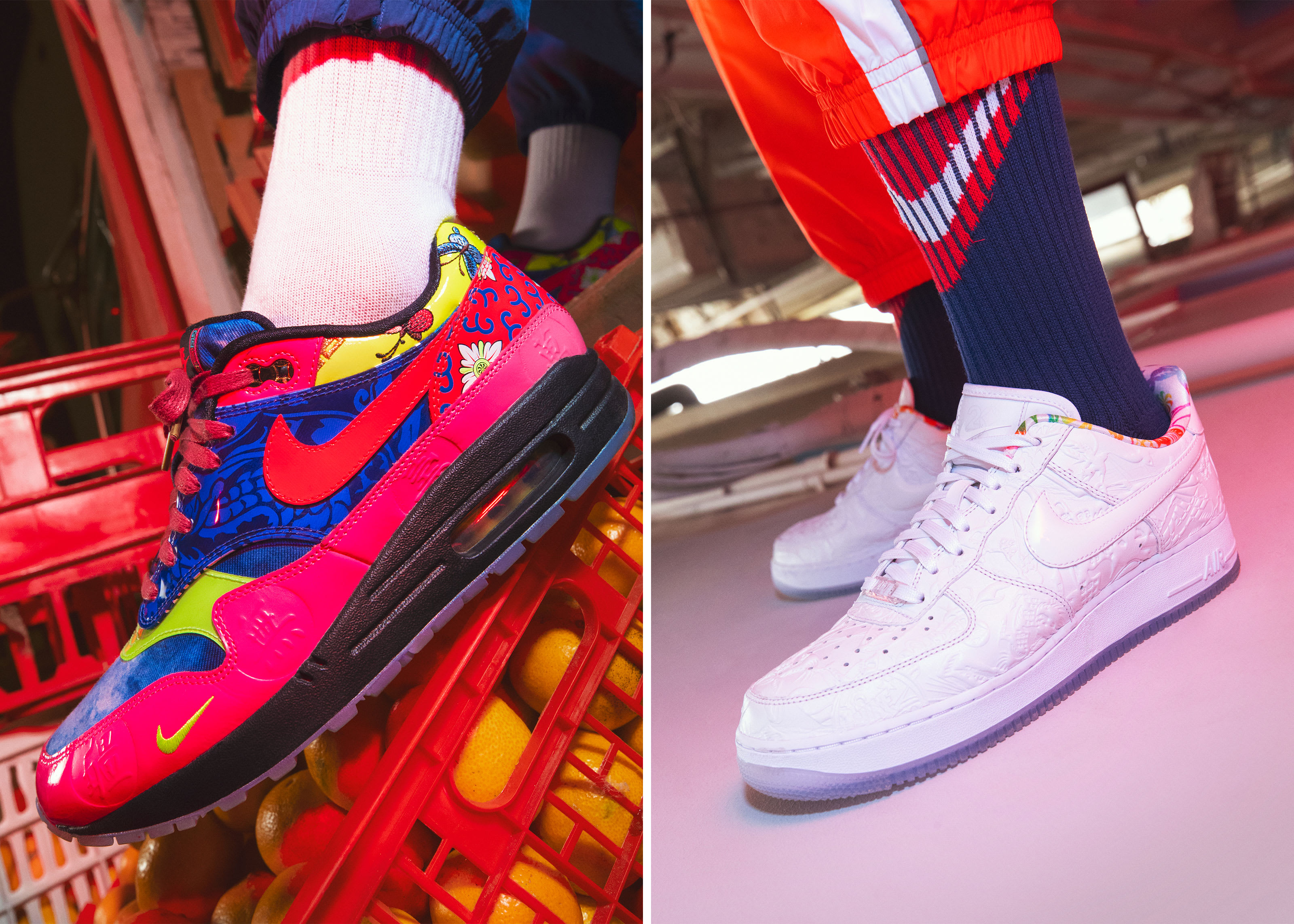 "Nike Officially Unveils Its ""Chinese New Year"" Collection: Photos"