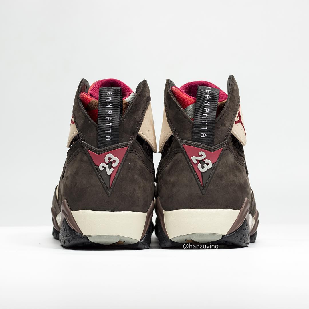 on sale f00c7 4eac1 Image via hanzuying · Patta x Air Jordan 7 SP AT3375-200 Heel