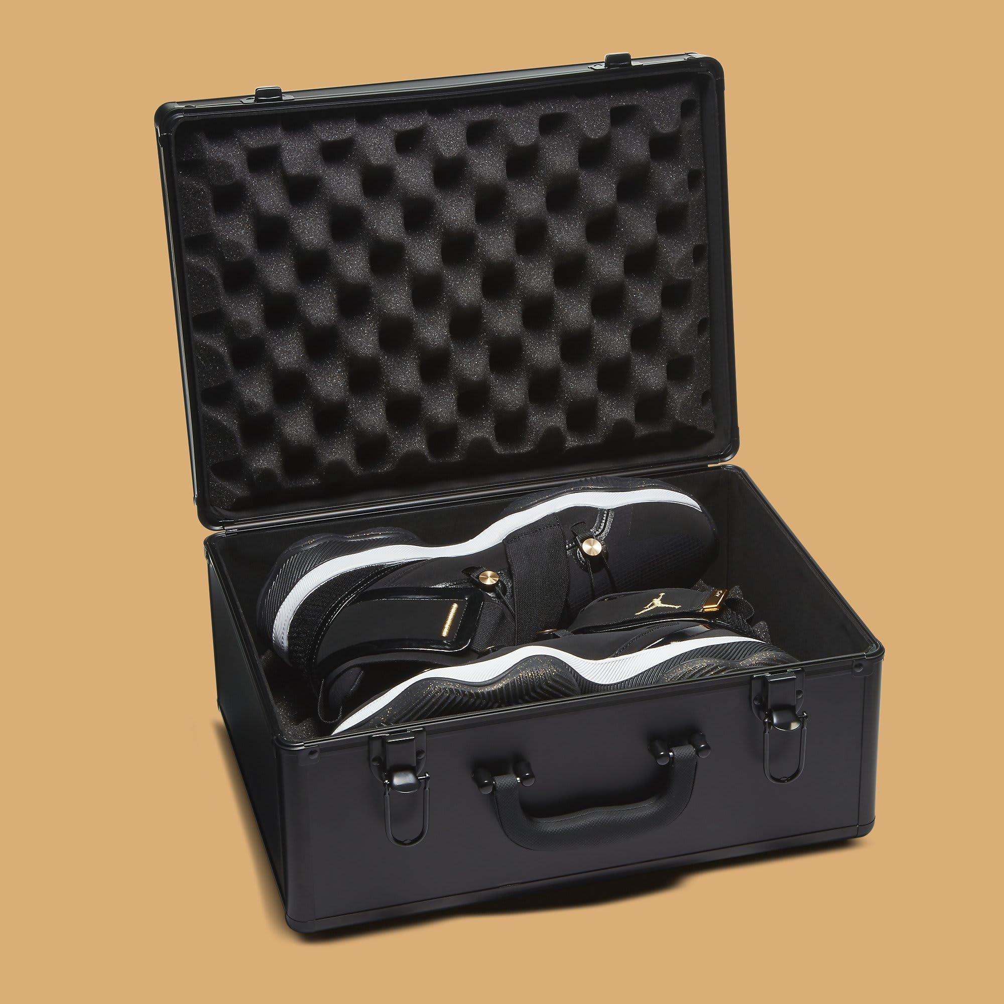 Jordan AJNT 23 Black Gold Release Date CI5441-008 Case Open