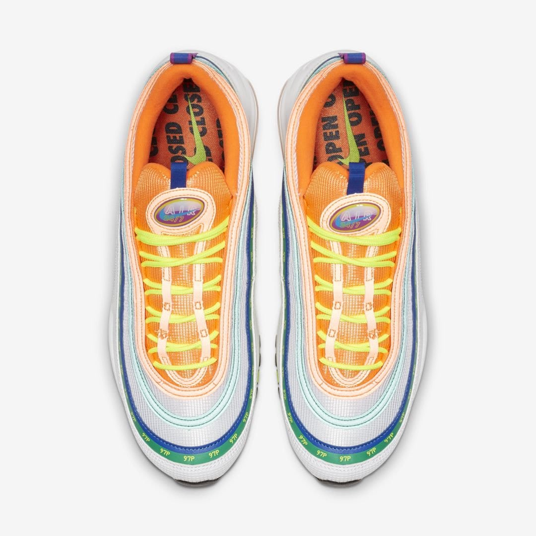 new concept 6c54c 8e026 Image via  J23app · Nike Air Max 97  London Summer of Love  (Top)
