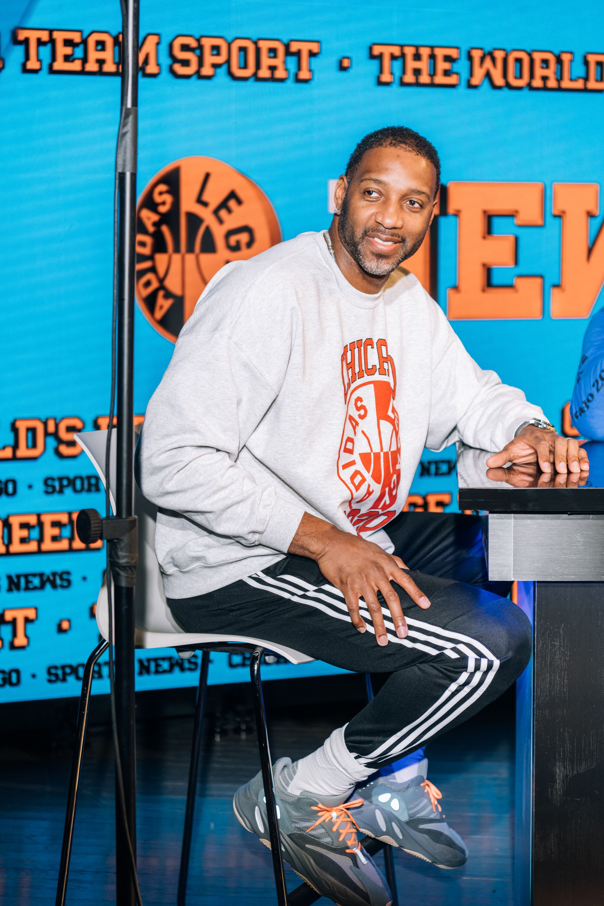 Adidas World's Best Career Day Tracy McGrady