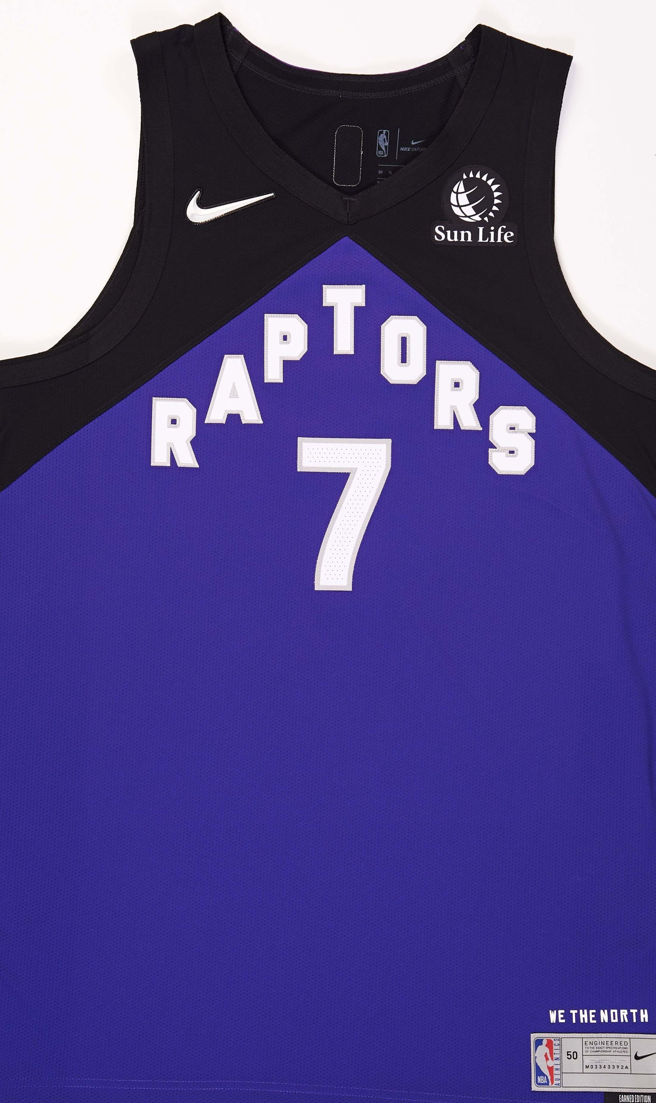 Toronto Raptors 2020-21 Earned Jersey