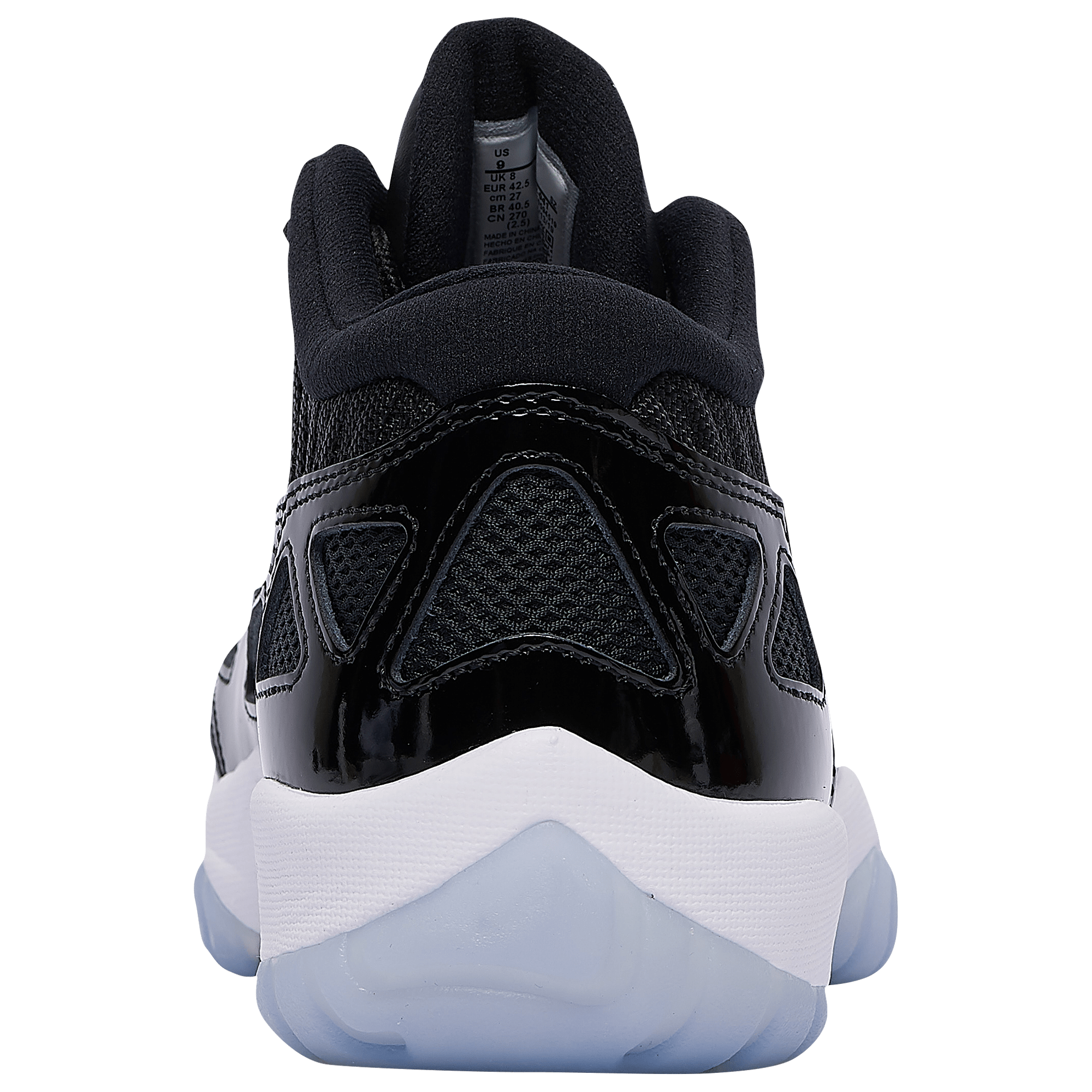 lowest price 50% price purchase cheap Air Jordan 11 Low IE 'Space Jam' Black/Concord 919712-041 ...