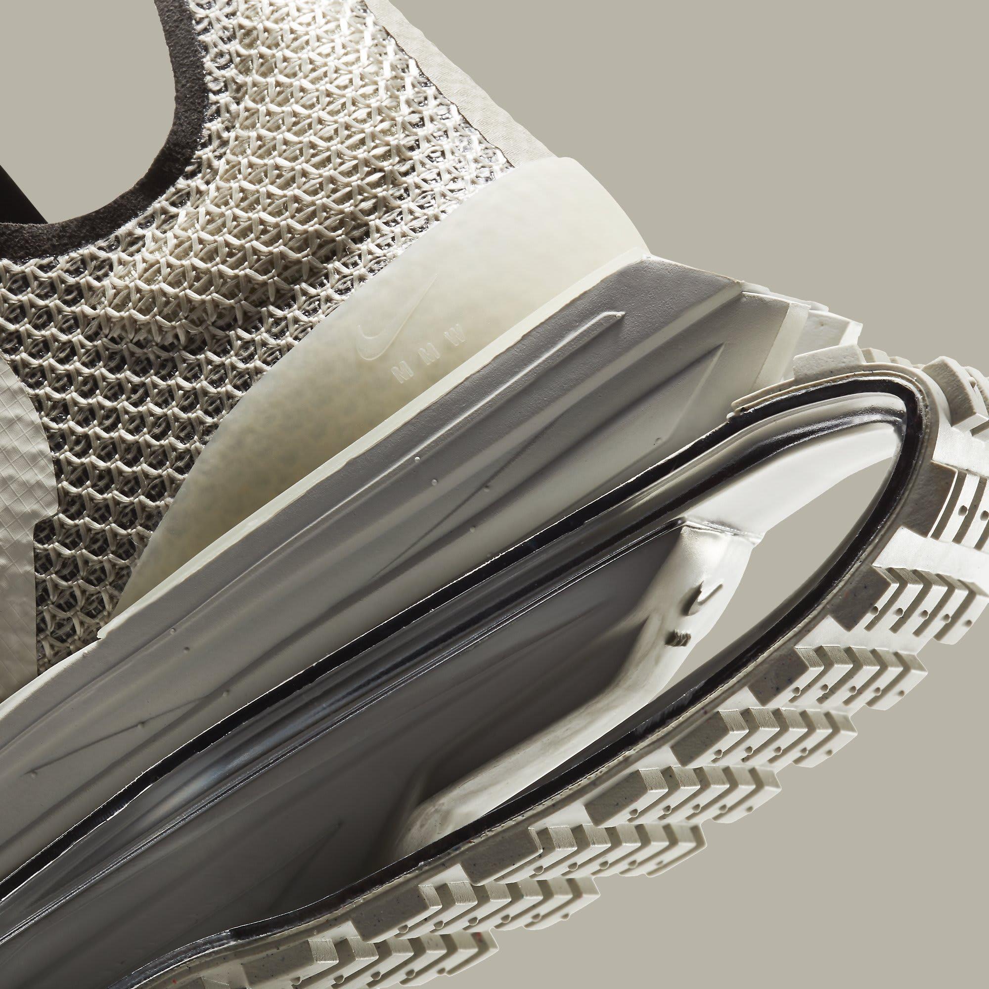 MMW x Nike Zoom 004 'Stone' CU0676-200 Heel