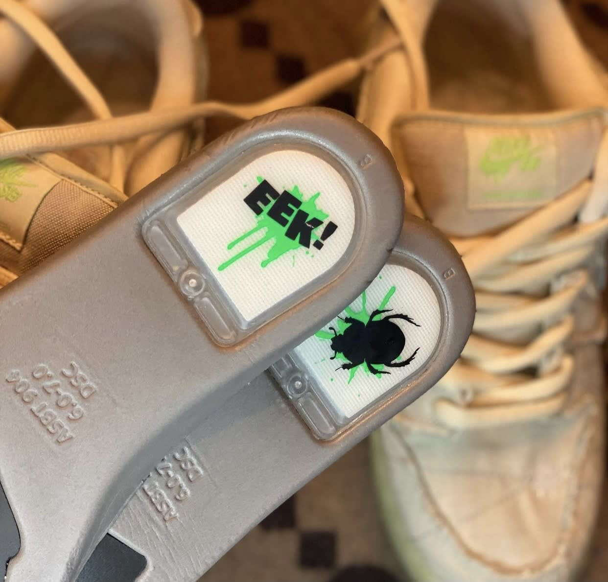 Nike SB Dunk Low Mummy Halloween DM0774-111 Insoles Bottom