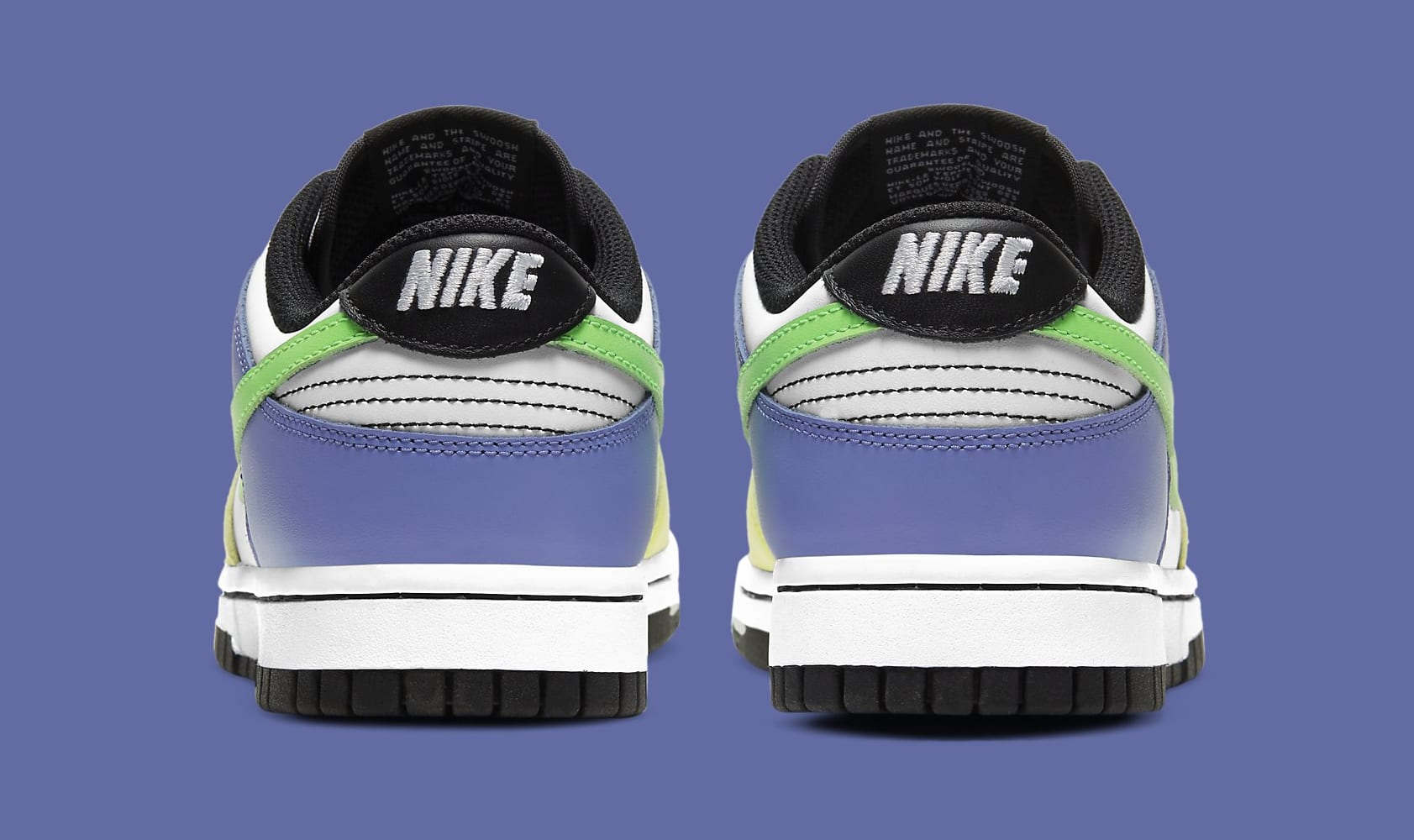 Nike Dunk Low Women's 'Green Strike' DD1503-106 Heel