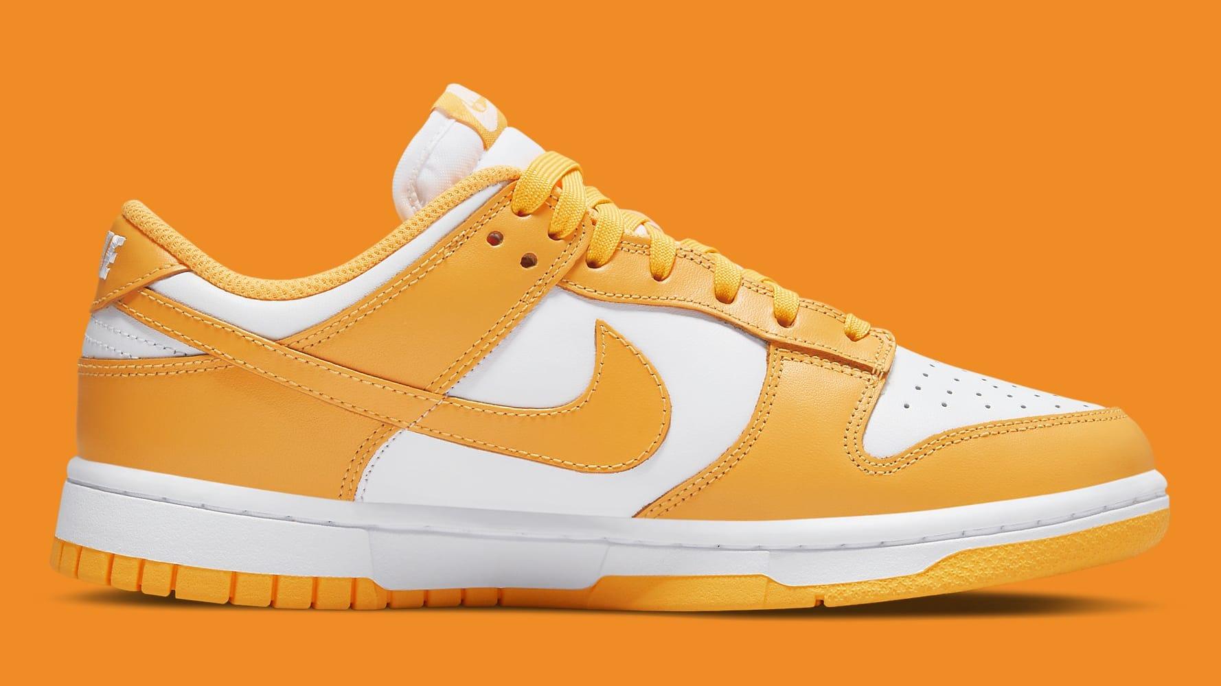 Nike Dunk Low Laser Orange Release Date DD1503-800 Medial