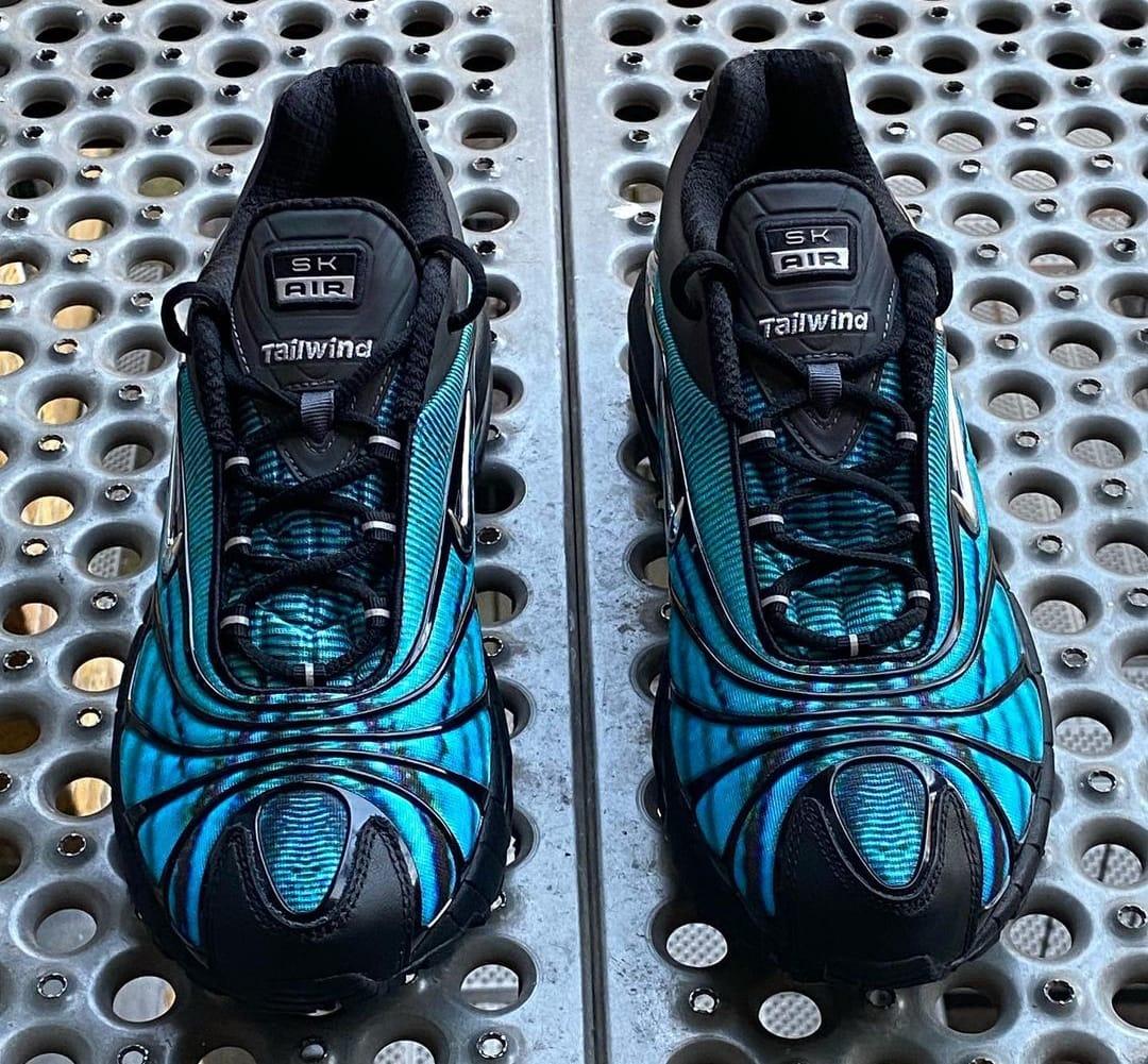 Skepta x Nike Air Tailwind V 'Blue' (Front)
