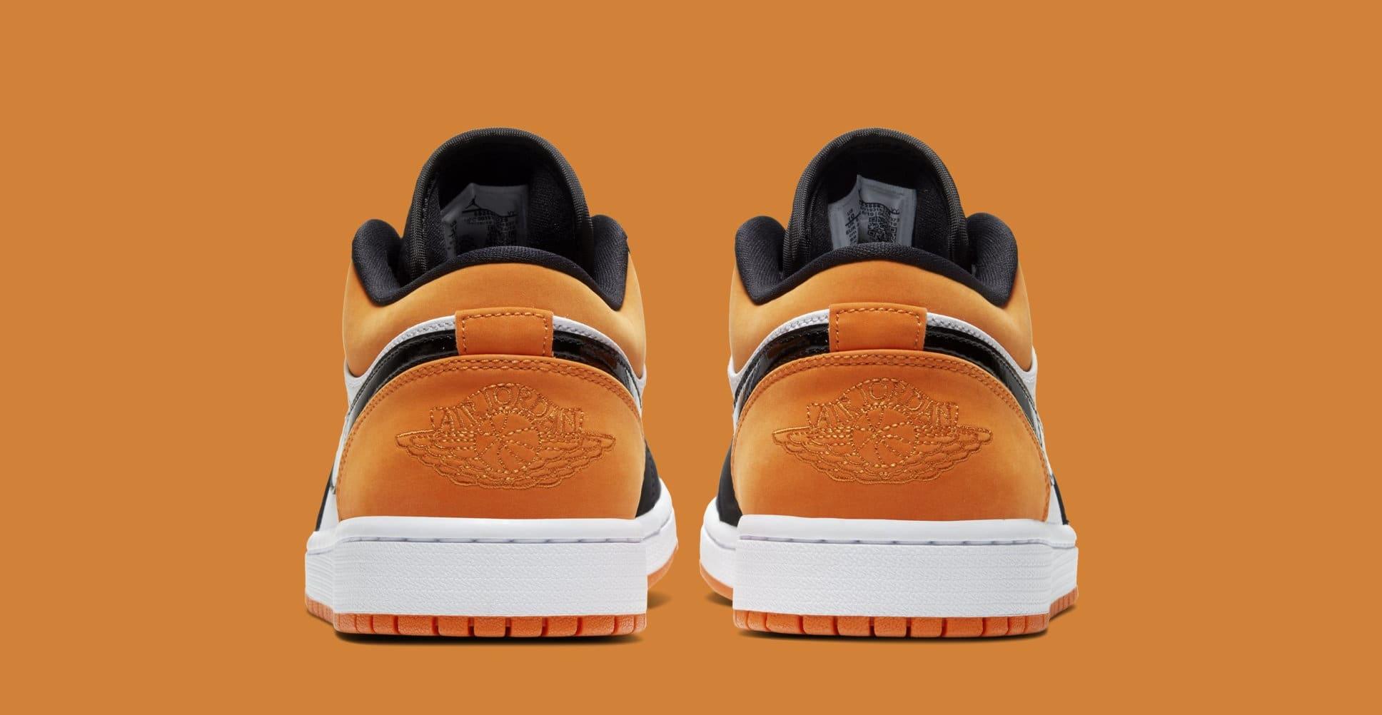 Air Jordan 1 Low 'Shattered Backboard' 553558-128 (Heel)