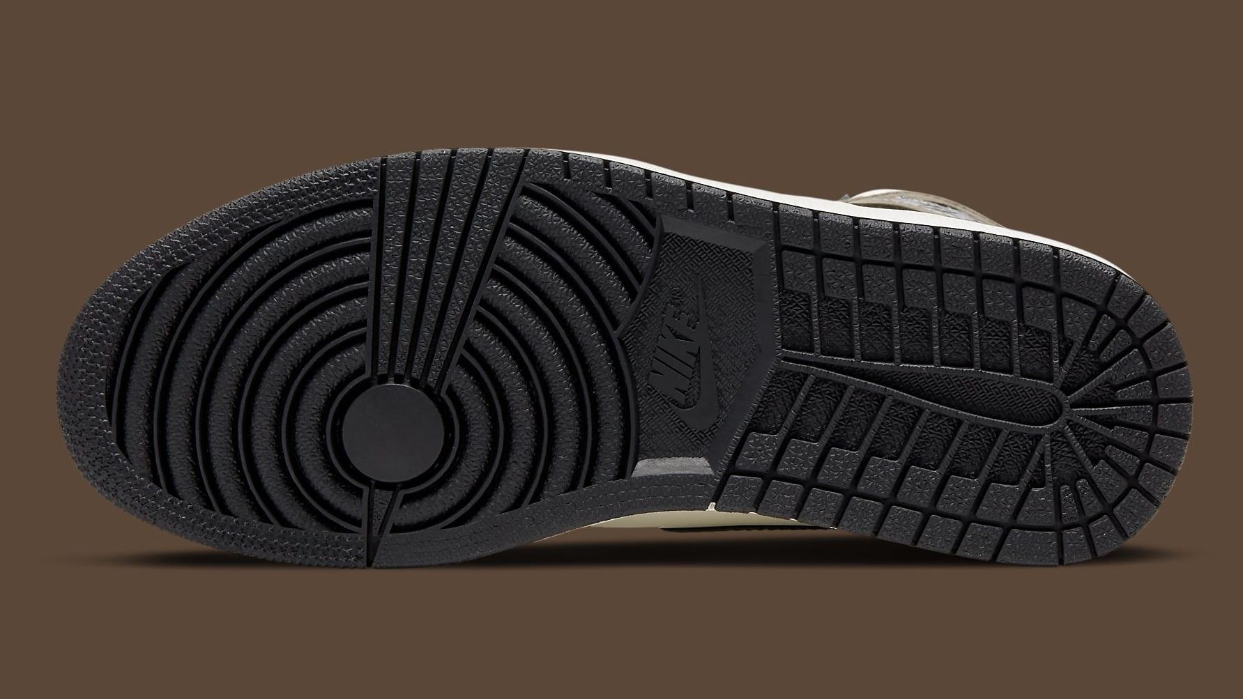 Air Jordan 1 Dark Mocha Release Date 555088-105 Sole