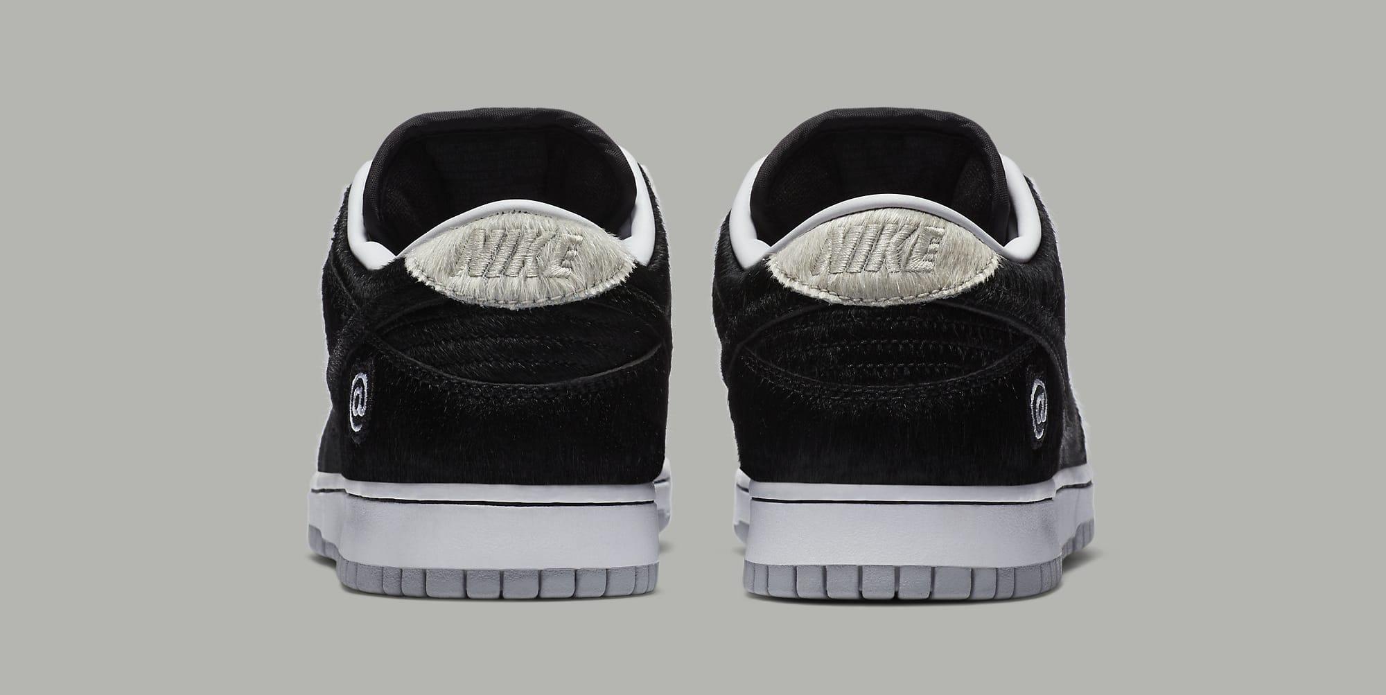 Medicom x Nike SB Dunk Low 'Bearbrick' CZ5127-001 Heel