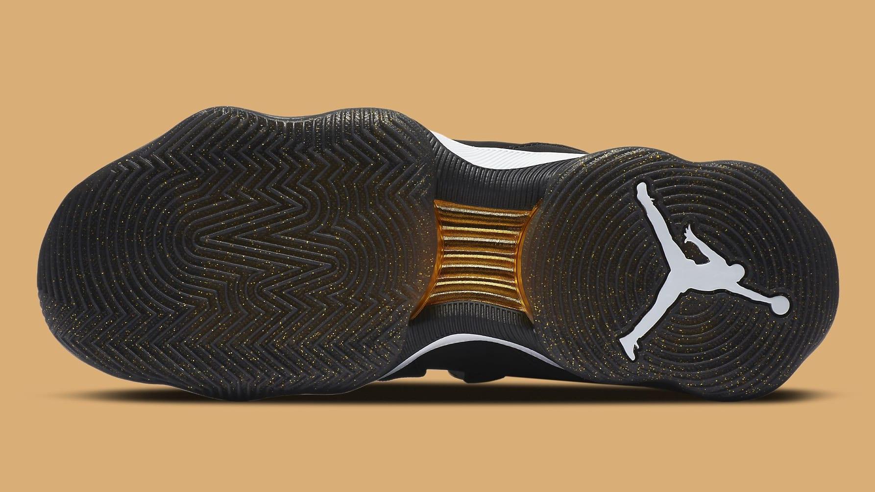 Jordan AJNT 23 Black Gold Release Date CI5441-008 Sole