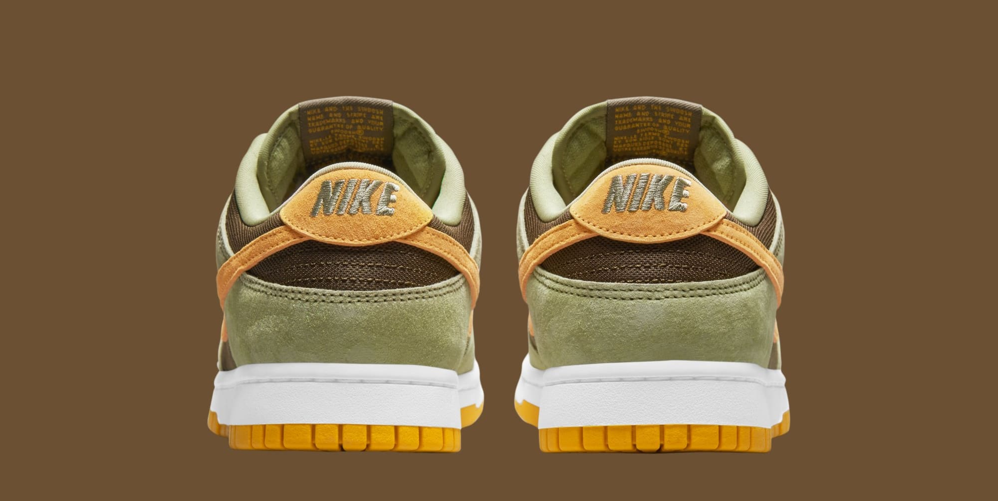 Nike Dunk Low 'Dusty Olive' DH5360-300 (Heel)