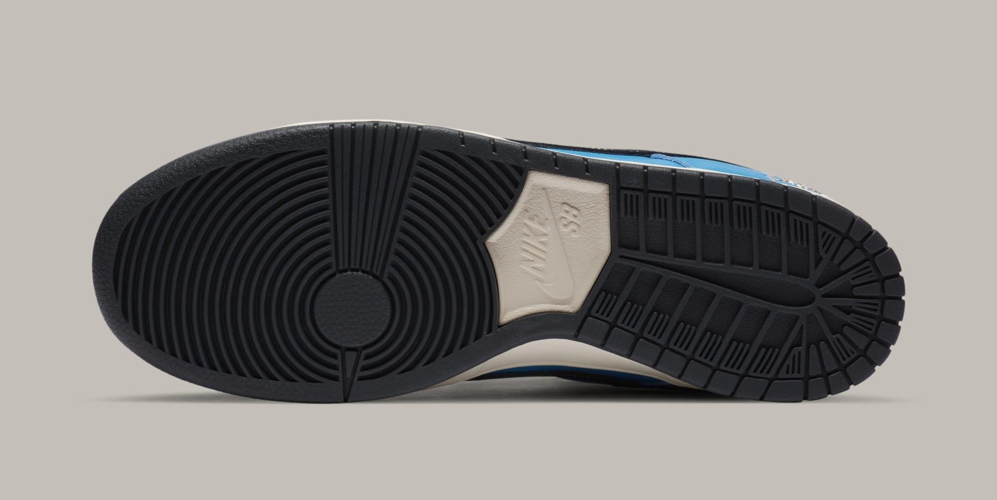 Instant Skateboards x Nike SB Dunk Low CZ5128-400 Outsole
