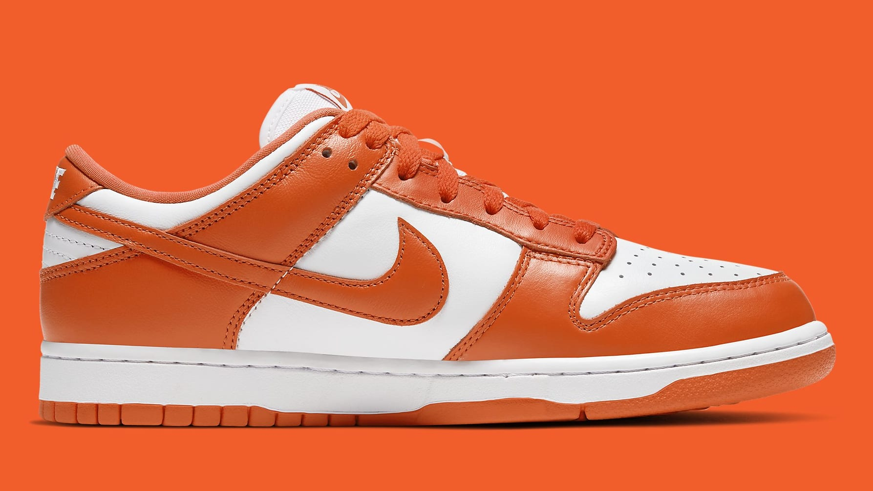 Nike Dunk Low Syracuse Release Date CU1726-101 Medial