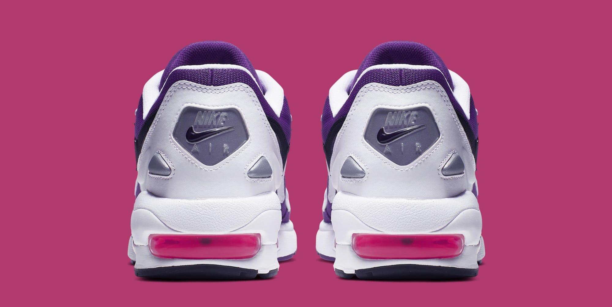 Nike Air Max2 Light 'White/Court Purple-Hyper Pink' AO1741-103 (Heel)