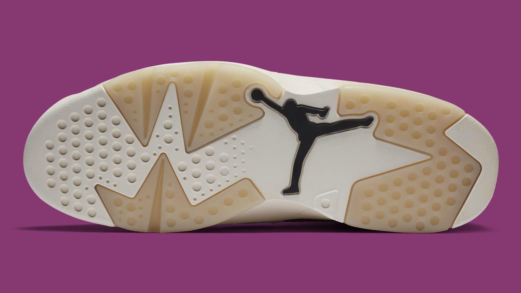 Air Jordan 6 Quai 54 Release Date CZ4152-101 Sole