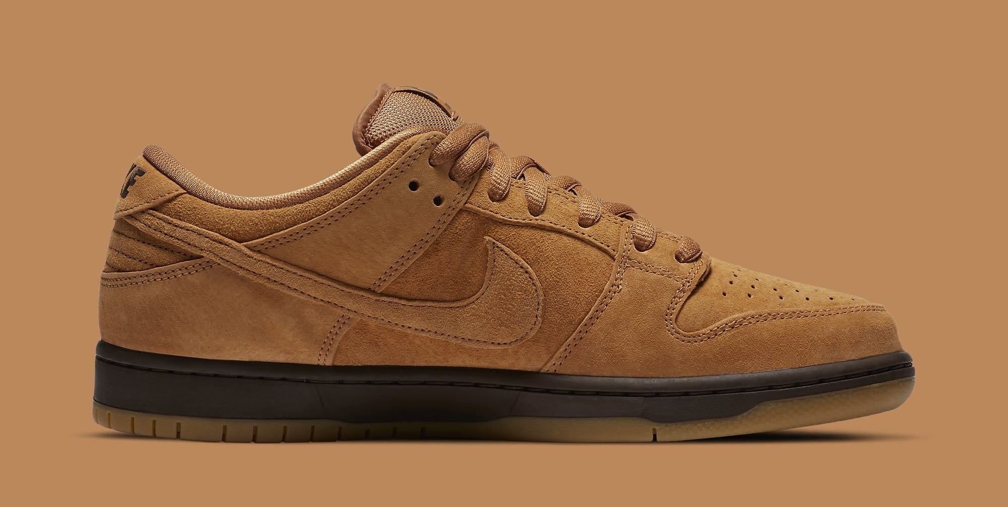 Nike SB Dunk Low 'Wheat Mocha' BQ6817-204 Medial