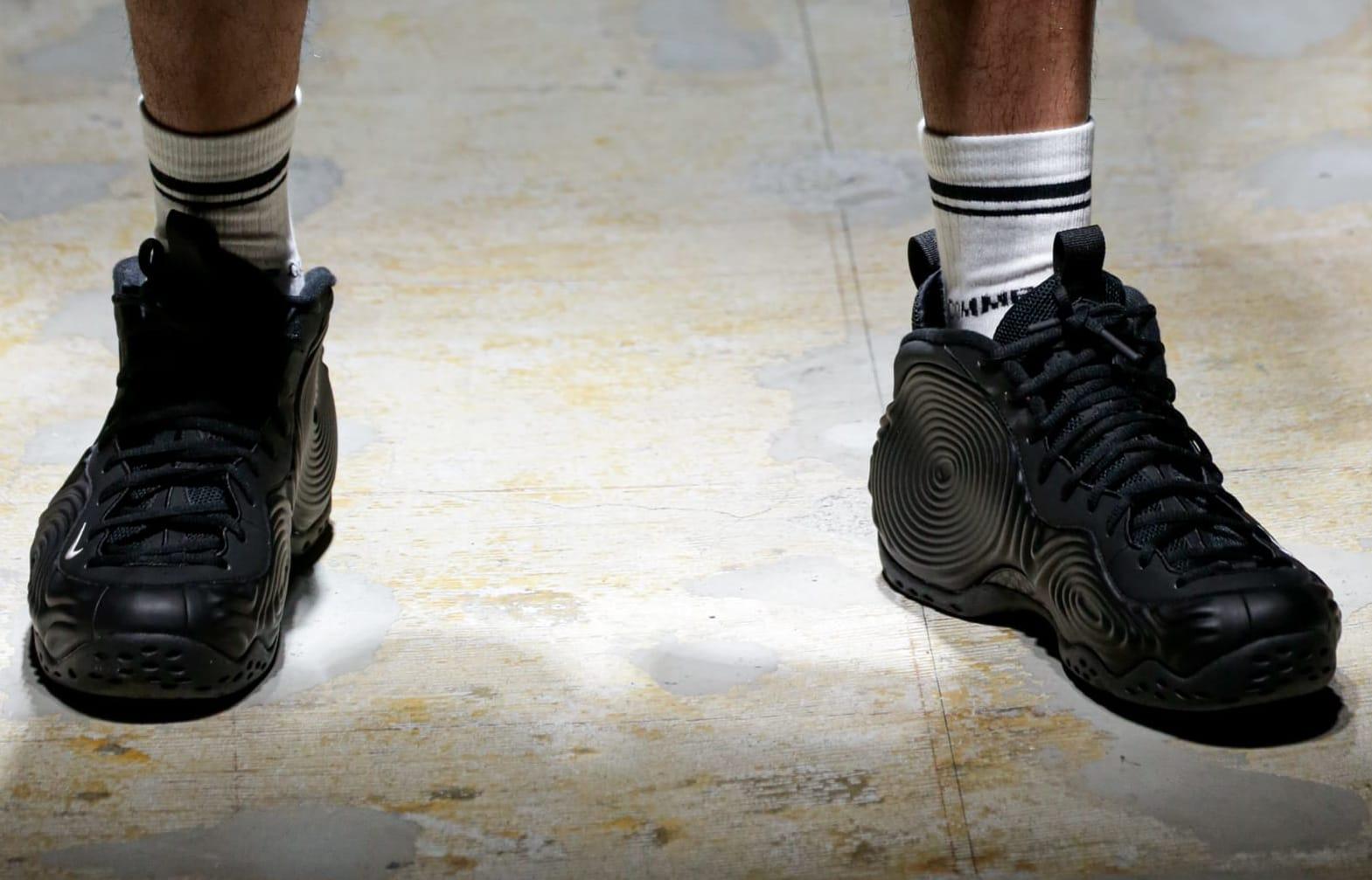 Comme des Garçons x Nike Air Foamposite One (Black 4)